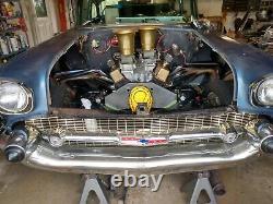 1955-1957 vintage CHROME Headers 55-57 small block Chevy CHEVROLET tri-five