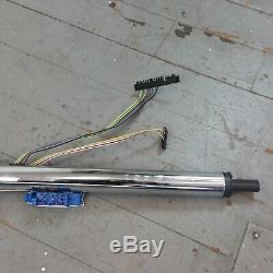 1960 1986 CHEVY Suburban 33 Chrome Tilt Steering Column KEYED Floor Shift gm