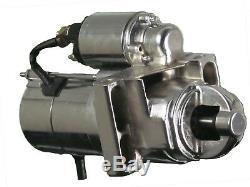 305 350 454 Chrome Chevy Staggered Bolt Mini Starter 3HP SR8552N 454 350 BBB SBC