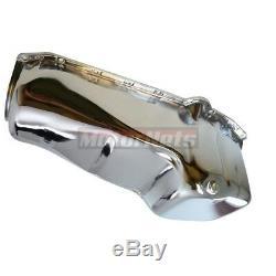 58-79 SBC Small Block Chevy Chrome Stock Oil Pan Gasket+Bolt 283-305-307-327-350