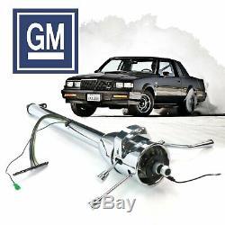 78-82 GM G-Body 33 Chrome Steering Column Automatic lsx Wankel Sixty Dualjet SS