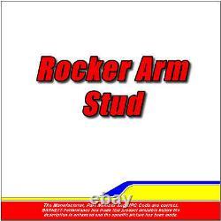 ARP 334-7203 Rocker Arm Stud Kit Small Block Chevy 8740 Chrome Moly Black Oxide