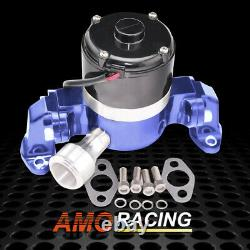 Aluminum Chrome High Flow Electric Water Pump Fits SB Chevy SBC Engines 350