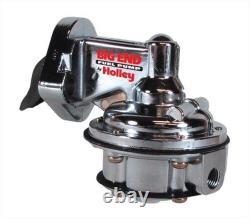 Big End Performance 10105 Small Block Chevy Mechanical Fuel Pump 110GPH Chrome