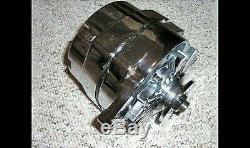 CHROME 100 Amp One 1 Wire Alternator GM Chevy Olds Pontiac SBC BBC street rod