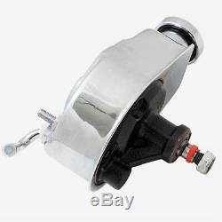 CHROME Power Steering Pump Pulley Brackets SBC Chevy Saginaw P Pump 305 350 400