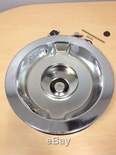Chevrolet Performance Parts Chrome Air Cleaner Kit 14 Sbc Bbc Oem Gm 12342071