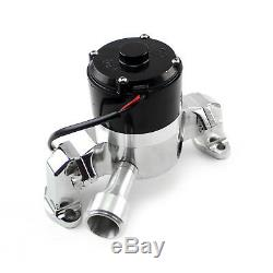 Chevy SBC 350 35+ Gpm Electric Water Pump Chrome