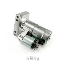 Chevy SBC 350 BBC 454 10 153T 11 168T Mini Muscle 3Hp Starter Motor Chrome