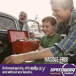 Chevy V8 Chrome Mini Starter, Super High Torque, SBC, BBC, 2.0 kW