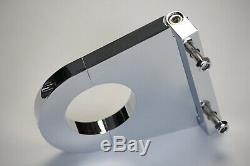 Chrome 28 Tilt Manual Steering Column Kit With 3.5 Column Drop BBC SBC Chevy