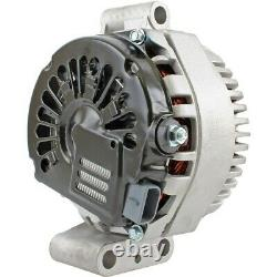 Chrome Alternator GM 105 Amp 1 Wire Wire for SBC BBC Chevy GMC Pontiac Hot Rod