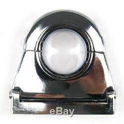 Chrome Aluminum 2 1/2 Steering Column Drop 2.5 For 2 Columns SBC BBC 350 454
