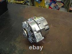 Chrome Chevy Int. Regulator Gm Alternator 100 Amp Sbc 3 Wire