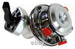 Chrome Mechanical Fuel Pump SB Small Block Chevy 265-400
