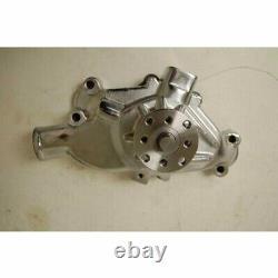 Chrome SB Chevy Water Pump Short SBC 283 327 350 383 High Volume Chrome Aluminum