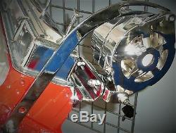 Chrome Small Block Chevy Driver Side Alternator Bracket 283 302 327 350 SWP SBC