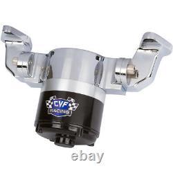 Chrome Small Block Chevy Electric Water Pump 350 EWP SBC High Volume Flow