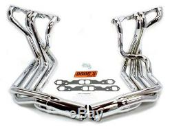 DOUG'S HEADERS SBC Chevy Corvette 1963-82 Chrome Side Mount Headers P/N D380-C