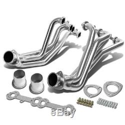 Fit 84-91 Gmt C/K 5.0/5.7 Sbc Stainless Racing Manifold Long Tube Header/Exhaust