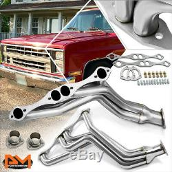 For 35-48 Chevy SBC Small Block 265-400 Stainless Steel Exhaust Header Manifold