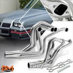 For Chevy SBC Small Block 305 400 Camaro/Malibu Stainless Steel Exhaust Header