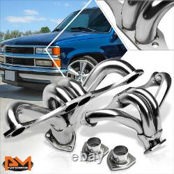 For Chevy SBC Small Block Hugger V8 8CYL Performance 8-2 Exhaust Header+Gasket