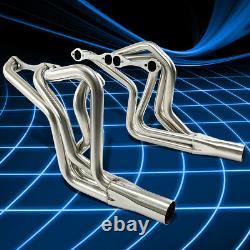 For Chevy Small Block SBC V8 260-400 Straight/Angle Plug Header Manifold Exhaust