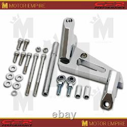 For Small Block Chevy Billet Aluminum Air Conditioning Bracket (Swp) Chrome