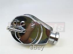 GM Chevy Chrome Saginaw Power Steering Pumps chrome Tear Drop GM SBC BBC