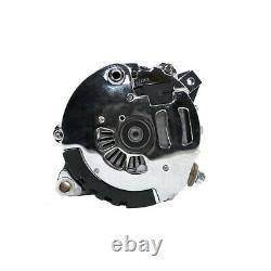 GM SBC BBC CS-130 Style Chrome 110 Amp 1 Wire Alternator Pontiac Olds Chevy