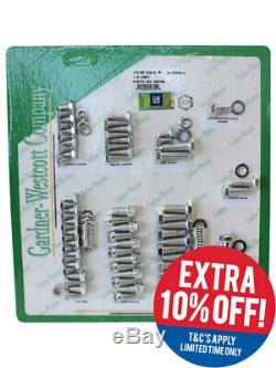 Gardener-Westcott Sbc Engine Dress Up Kit Hex Chrome Plated Chevy (10-56490-H)