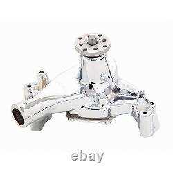 MR. GASKET SBC Long Water Pump Chrome 7012MRG