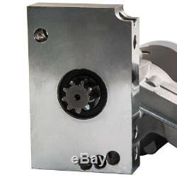 Mini Starter for Chevy SBC BBC Small Big Block Chrome 3HP High Torque Black