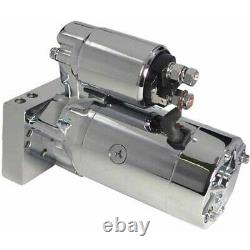 NEW 3HP STARTER for SBC BBC CHEVY 305 350 454 SUPER TORQUE MT200 ULTIMATE CHROME