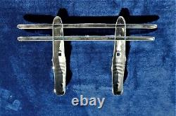 NOS 30's 40's CAR TRUCK 2 BAR CHROME GRILL BUMPER GUARD CHEVY FORD DODGE NICE