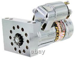 New Powermaster Chrome Powermax Plus Mini Starter, Hitachi, Sbc, Bbc, Chevy, Pontiac