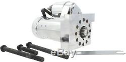 New SBC BBC Small And Big Block Chevy Gear Reduction CHROME Starter 305 350 454