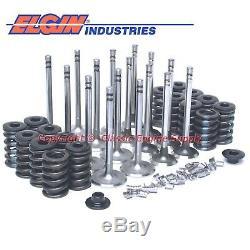 New Z28 Springs, 1.94 Intake & 1.5 Exhaust Valve Set Chevy 400 350 327 283