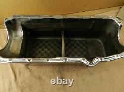 Oil Pan Chevy Small Block SBC 7 Quart Street Drag Race Tube Chassis Chrome