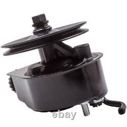 Power Steering Pump Fit BBC SBC for Chevy Chrome Saginaw Single Groove Pulley