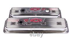 Proform 141-107 Steel Short Valve Covers Fits Small Block Chevy Engines