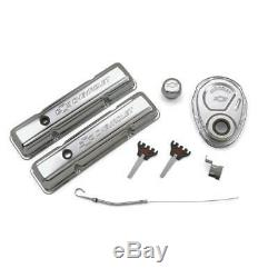 Proform Dress Up Kit 141-001 GM Performance Chrome Steel for Chevy 262-400 SBC