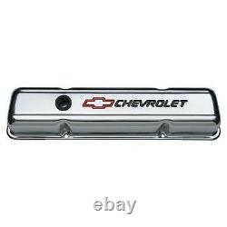 Proform Parts 141-899 Stamped Valve Cover fits Chevrolet And Bow Tie Emble