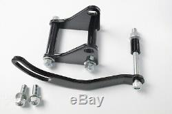 SBC Chevy SB Chrome Saginaw Power Steering Pump with Bracket & Pulley Kit