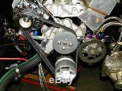 SBC Small Block Chevy Gilmer Belt Drive Long Water Pump Pulleys 283,327,350,383