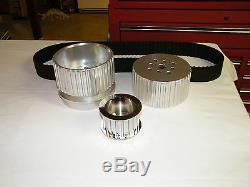 SBC Small Block Chevy Gilmer Belt Drive Short Water Pump Pulleys 327 350 383