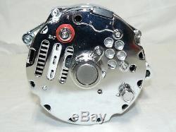 Sbc 71-86 Gm Chrome 110 Amp 10si 1 One Or 3 Wire Alternator 4.3 4.4 4.9 5.0 5.7