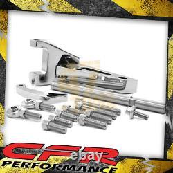 Sbc Small Block Chevy Billet Aluminum Alternator Bracket (Swp) Chrome