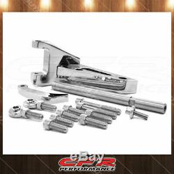 Sbc Small Block SB Fits Chevy Billet Aluminum Alternator Bracket (Swp) Chrome